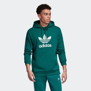 返品可 送料無料 アディダス公式 ウェア トップス adidas トレフォイル パーカー p0924|adidas