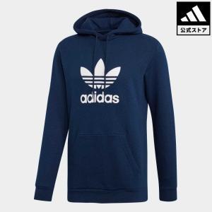 返品可 送料無料 アディダス公式 ウェア トップス adidas トレフォイル パーカー|adidas