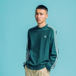 返品可 アディダス公式 ウェア トップス adidas 3ストライプ 長袖Tシャツ p0924|adidas