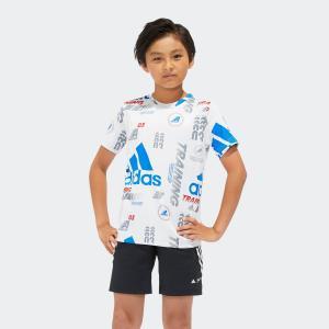 全品送料無料! 6/21 17:00〜6/27 16:59 返品可 アディダス公式 ウェア トップス adidas B TRN RACER Tシャツ|adidas