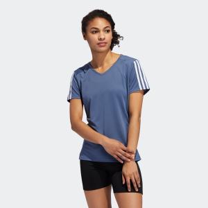 全品ポイント15倍 07/19 17:00〜07/22 16:59 返品可 アディダス公式 ウェア トップス adidas RUN 3STシャツW|adidas