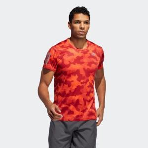 セール価格 アディダス公式 ウェア トップス adidas オウン ザ ラン アーバン カモTシャツ [Own the Run Urban Camo Tee]