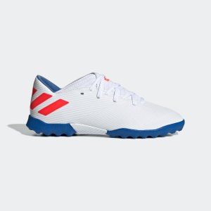 返品可 アディダス公式 シューズ スポーツシューズ adidas ネメシス メッシ 19.3 TF J / フットサル用 / ターフ用|adidas