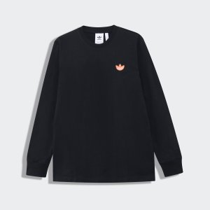 返品可 アディダス公式 ウェア トップス adidas トレフォイルWAPPEN 長袖Tシャツ|adidas