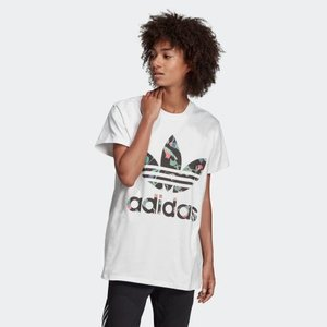 返品可 アディダス公式 ウェア トップス adidas BIG TREFOIL TEE|adidas