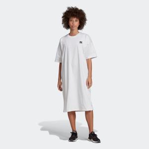 返品可 アディダス公式 ウェア オールインワン adidas トレフォイル ドレス|adidas