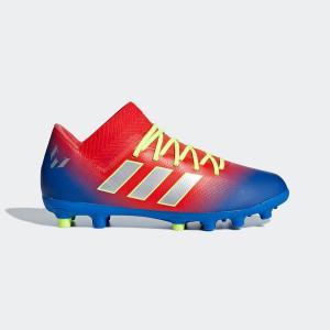 セール価格 アディダス公式 シューズ スパイク adidas ネメシス メッシ 18.3-ジャパン HG/AG J|adidas