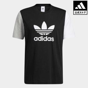 セール価格 返品可 アディダス公式 ウェア・服 トップス adidas ブロック トレフォイル Tシャツ 半袖 adidas Shop PayPayモール店