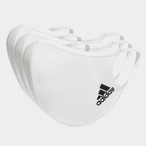 アディダス公式 adidas フェイスカバー 3枚組 (M/L) Face Covers M/L 3-Pack 医療用マスクとしての規格を満たしているものではありませんの商品画像|ナビ