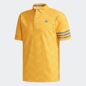 セール価格 アディダス公式 ウェア トップス adidas CP ジオメトリックプリント 半袖 ボタンダウンシャツ 【ゴルフ】|adidas