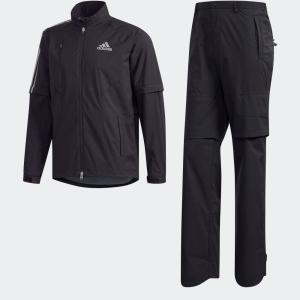 セール価格 送料無料 アディダス公式 ウィンドブレーカー adidas クライマプルーフ レインスーツ 【ゴルフ】 adidas