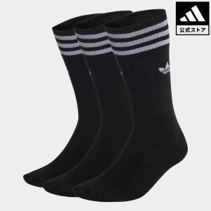 セール価格 アディダス公式 ソックス adidas オリジナルス ソリッドクルーソックス/靴下