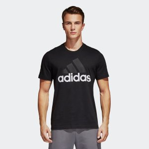 全品送料無料! 6/21 17:00〜6/27 16:59 アウトレット価格 アディダス公式 ウェア トップス adidas M ESSENTIALS リニアロゴ 半袖Tシャツ|adidas
