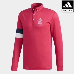 セール価格 アディダス公式 ウェア トップス adidas adicross ウールブレンド 長袖 ボタンダウンシャツ【ゴルフ】 adidas
