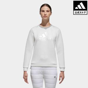 セール価格 アディダス公式 ウェア トップス adidas CP ウルトラライトニット クルーネックスウエット【ゴルフ】|adidas