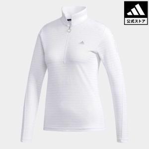 セール価格 アディダス公式 ウェア トップス adidas CP ソリッド 長袖 ジップポロ【ゴルフ】|adidas
