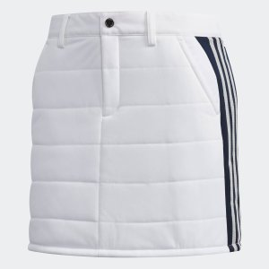 セール価格 アディダス公式 ウェア ボトムス adidas スリーストライプ スタッフドスコート 【ゴルフ】|adidas