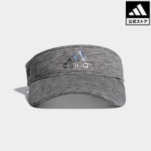 セール価格 アディダス公式 アクセサリー 帽子 adidas CP メタリックロゴウォームバイザー【ゴルフ】|adidas