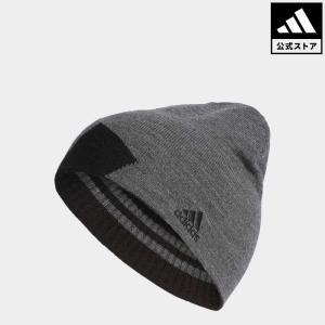 セール価格 アディダス公式 アクセサリー 帽子 adidas ボールドストライプリバーシブルビーニー【ゴルフ】|adidas