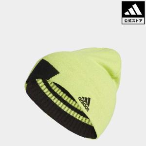セール価格 アディダス公式 アクセサリー 帽子 adidas ボールドストライプリバーシブルビーニー【ゴルフ】 adidas