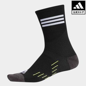 セール価格 アディダス公式 アクセサリー ソックス adidas CP 3ストライプウォームソックス クルー【ゴルフ】|adidas