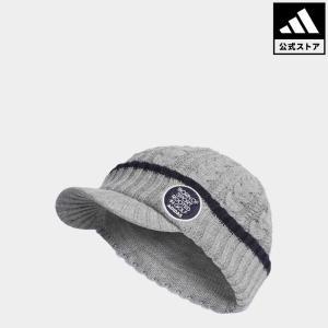 セール価格 アディダス公式 アクセサリー 帽子 adidas adicross ケーブルバイザーニットキャップ【ゴルフ】|adidas