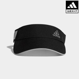 セール価格 アディダス公式 アクセサリー 帽子 adidas CP メタリックロゴバイザー【ゴルフ】|adidas