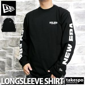 ニューエラ 長袖Tシャツ メンズ 上 NEW ERA ロンT ビッグロゴ 長袖 12108232 送料無料 新作|adistyle