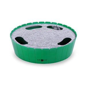 猫おもちゃ - Pawaboo 電動式 ネズミを捕らえる 隠す 追う 猫おもちゃ ネコ遊び 運動 ベット用 GREEN|adnext