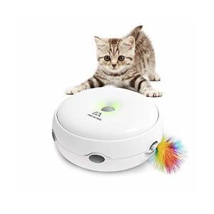 猫の友社 猫じゃらシッター ねこじゃらし 電動 おもちゃ 運動不足 ストレス解消|adnext