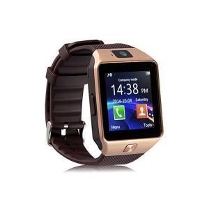 Jiazy スマートブレスレット1.54 inch 多機能 歩数計 腕時計 カメラ sim/TF対応通話 Android対応(ゴールド) adnext