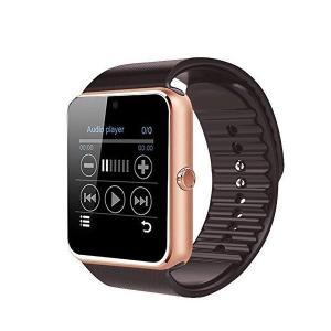 Colofan スマートウォッチ 多機能腕時計 SIMカード対応 カメラ付き 着信お知らせ 歩数計 アラーム時計 電話通知 SMS通知 音楽 撮影 adnext