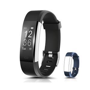 心拍計 Apexstar スマートウォッチ 活動量計 Bluetoothで 歩数計 Line通知 電話着信・メール・SNS通知 アラーム 腕時計 カ adnext
