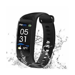 Inteli-topia スマートブレスレット 多機能 スマートウォッチ 血圧 心拍計 歩数計 血圧計 運動距離 消費カロリー 同期 着信通知 Li adnext