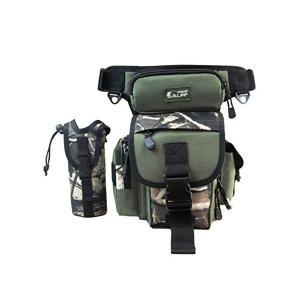 (キャット ハンド) Cat Hand 3way 大容量 マルチ フィッシング タックル バッグ ロッド ホルダー 機能 付き 4色展開 (グリーン|adnext