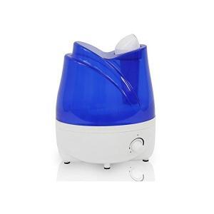 PRISMATE(プリズメイト)アロマ超音波式加湿器 Tulip  ブルー BBH-30-BL|adnext