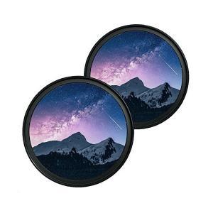 Nikon ニコン D3400 D5600 D5300 ダブルズームキット 適合 レンズフィルター [ 高透過率 撥水防汚 薄枠 多層加工 紫外線カ|adnext