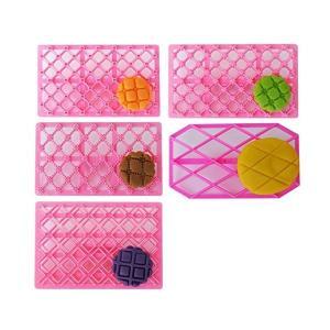 Y-Joy【 押し型5点セット 】パッチワークカッター シュガークラフト お菓子作り 製菓道具 フォンダンケーキツール エンボス ケーキ装飾 粘土細 adnext