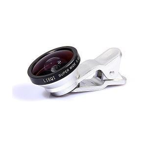 LIEQI 自撮りレンズ SUPER WIDE 0.4X silver LQ-002|adnext