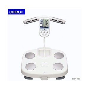 OMRONオムロン 体重体組成計HBF-903 体重計 両手両足測定式 基礎代謝体脂肪率から内蔵脂肪までチェック adnext