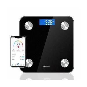 MJDUO 体重計 体脂肪計・体組成計/体重/体脂肪率/体水分率/推定骨量/基礎代謝量/内臓脂肪レベル/BMIなど測定可能 Bluetooth対応 adnext