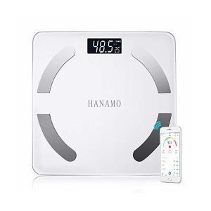 体重 体組成計 体重計 bluetooth 体脂肪計 USB充電式ボディスケール 高精度スマートスケール 体重/BMI/脂肪率/筋肉/水比記録/内蔵 adnext