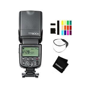 GODOX TT600S カメラのフラッシュ ストロボ Sonyソニー DSLRカメラ用|adnext