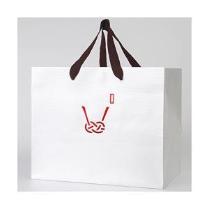 みこと 引き出物袋 マチ広 中サイズ 手提げ紙袋 10枚セット 30cm×25cm×20cm 和柄 あわじ|adnext