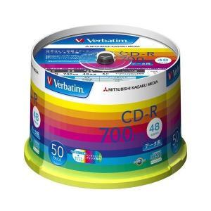 三菱ケミカルメディア Verbatim 1回記録用 CD-R SR80SP50V1 (48倍速/50枚) adnext