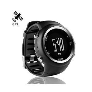ランニングウォッチ GPS 腕時計 デジタル ウォッチ 防水 軽量 Bluetooth搭載 歩数計 EZONT031B01|adnext