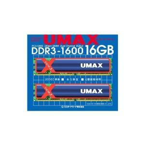 UMAX DDR3-1600 8GB*2 Cetus DCDDR3-16GB-1600|adnext