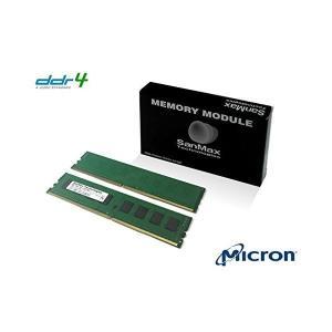 デスクトップ用メモリ Micron DRAM搭載 288pin DDR4-2400 CL17 16GB(8GB x 2枚) セット 1.2volt|adnext