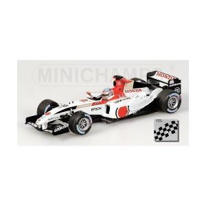 【ミニチャンプス】1/43スケールホンダ  F1チーム B・A・R Honda 006 #10 佐藤琢磨 (400_040110)MINICHAMP|adnext