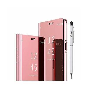 Huawei P20 Lite用スマートフォンケース, 高級電気メッキキックスタンドケース [超スリムな半透明] [自動ウェイクアップ機能とブラケッ|adnext